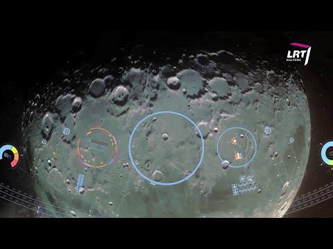 Mokslo sriuba: misija į Mėnulio orbitą