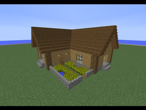 tuto minecraft maison en bois 5 youtube. Black Bedroom Furniture Sets. Home Design Ideas