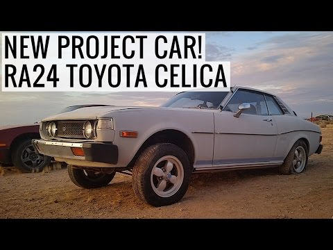 New Project Car! Classic 1977 Toyota Celica GT - EP01