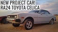 New Project Car! Classic 1977 Toyota Celica GT