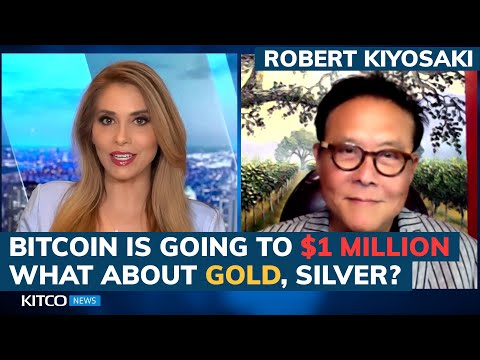 Robert Kiyosaki : Bitcoin will be over $1 million in 5 years but I still prefer gold and silver