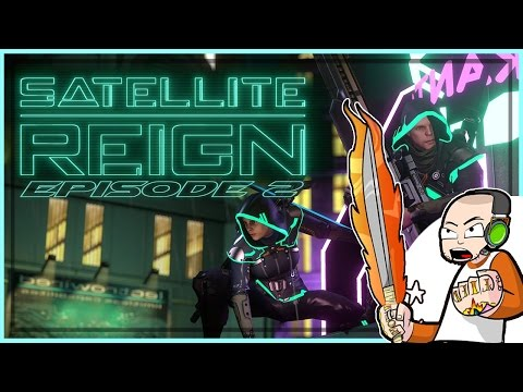 Satellite Reign CoOp with Friends - Episode 2 - (Multiplayer Gameplay)