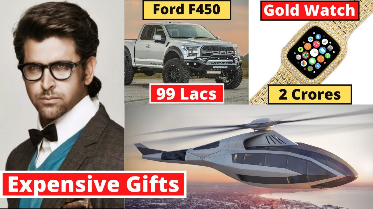 Hrithik Roshan's 10 Most Expensive Birthday Gifts From Bollywood Stars | #happybirthday2021