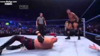 undertacker pulls kane inside the ring