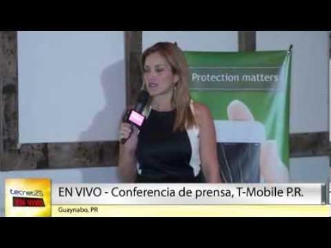 Tecnético Noticias LIVE - Conferencia de prensa de T-Mobile Puerto Rico 2014