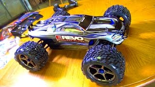 RC ADVENTURES UNBOXiNG a 1 10th Scale 4WD Traxxas BL E REVO RC TRUCK
