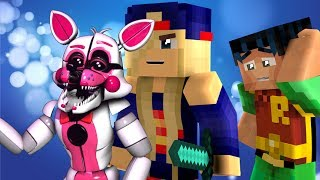 Minecraft Fnaf: How to KILL Funtime Foxy From Sister Location (Minecraft Roleplay)