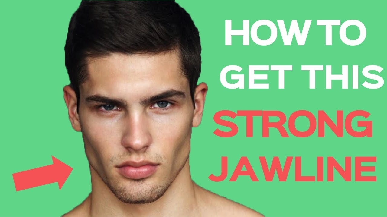 how to get a strong jawline - 4 tips for a more structured chiseled face #ad