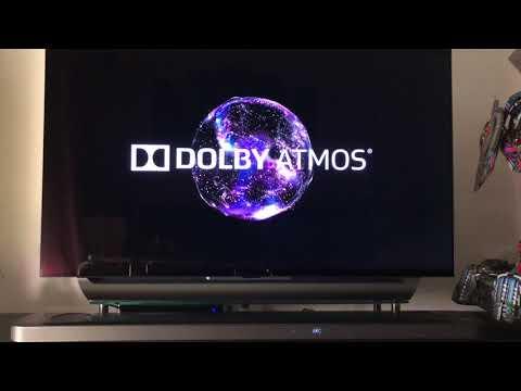 Dolby Atmos LG Sound Bar (2018) SK9Y Demo