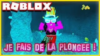 I CHERCHE OF TRESORS IN THE OCEAN! Roblox Diving Simulator
