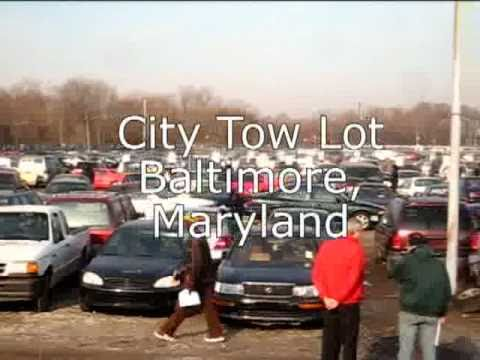 Baltimore CIty Impounded Car Auction