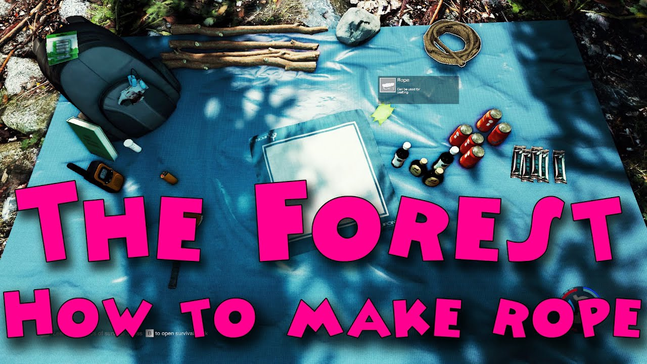the forrest how to make a speae