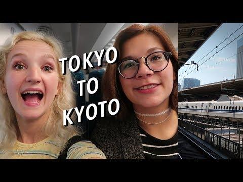 Tokyo to Kyoto: Riding the Shinkansen Bullet Train | Arriving in Japan