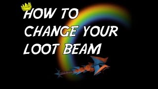 RuneScape - How to Change Your Loot Beam Options
