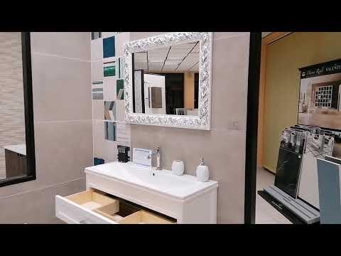 Mobile Bagno Sospeso White Amber Stile Veneziano - N. prodotto: 27600