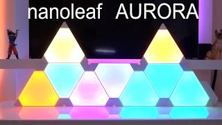 nanoleaf AURORA  Unboxing  (en español)