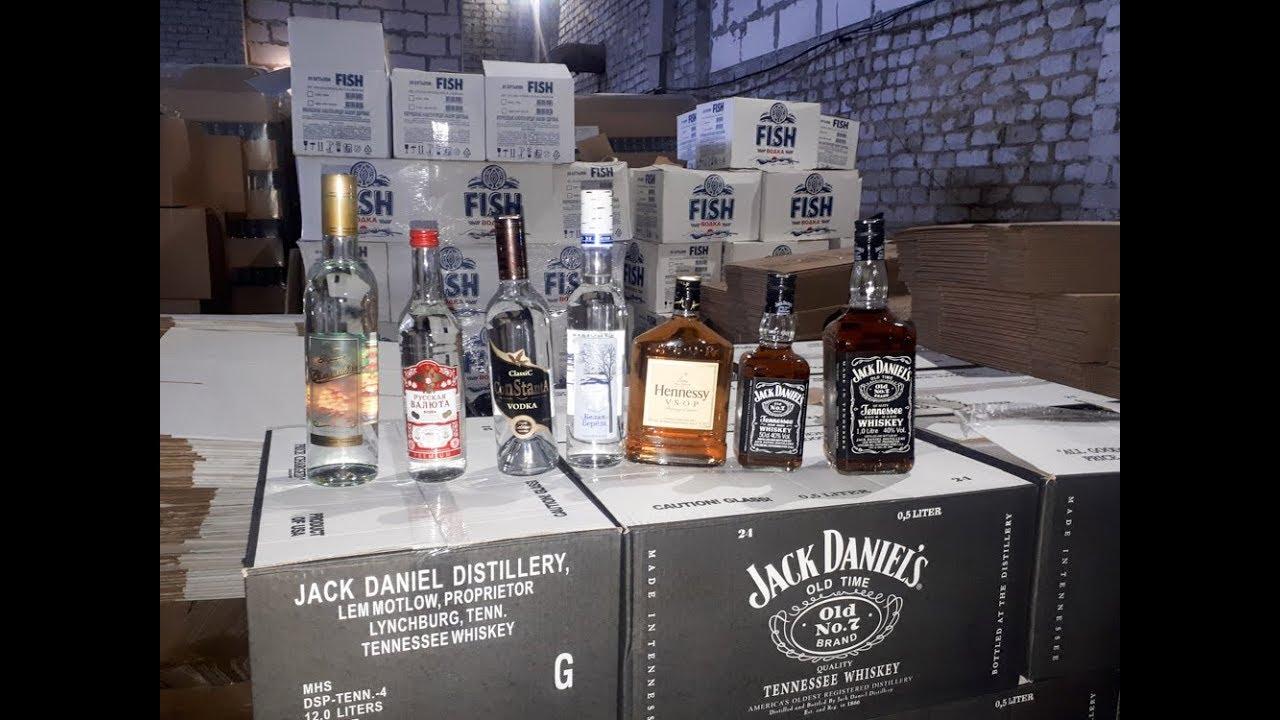 В Касимовском районе Рязанской области пресечено нелегальное производство алкогольной продукции