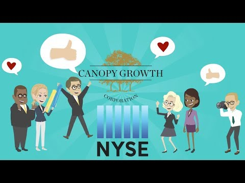 breaking news Canopy Growth corp moving to the NYSE and more stock market news