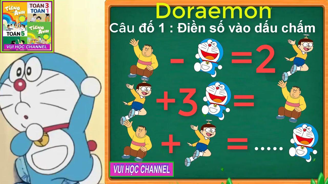 Doraemon | Học Toán | Đố vui 1