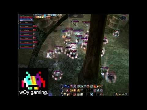 wOy gaming. L2E-Global.com [Core,AQ & orfen fights 69 side vs Zergs] by Tare