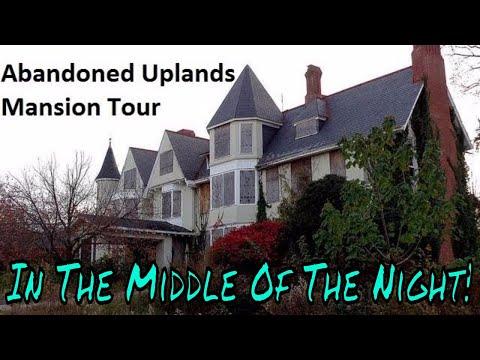 Baltimore's Abandoned Uplands Mansion Urban Exploring Adventure! Full Night Tour! 6/28/2017