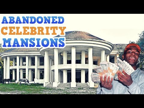 Abandoned Mansions Of The Rich & Famous!