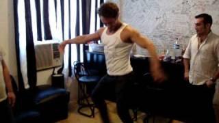 anilson bailando samba brasileña