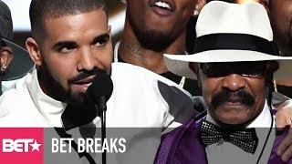 drakes dad releases a video   bet breaks