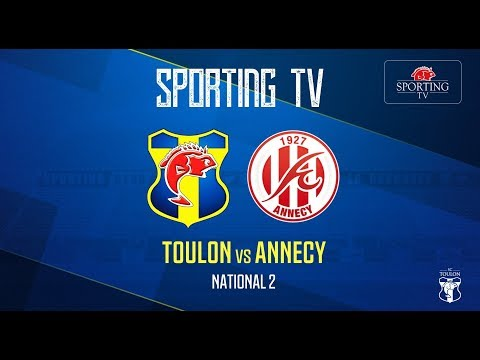 SPORTING CLUB TOULON - FC Annecy (0-0) : National 2 - J26 (20/04/2019)