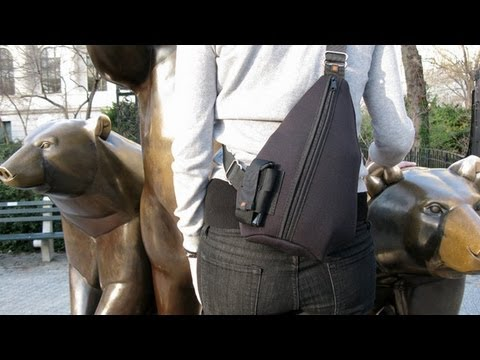 Tucker and Bloom: Tear Drop Sling Bag - YouTube