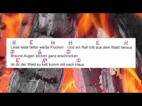 Winterwonderland - Weihnachtslied - Chords and Lyrics - Campfire Version - Musikschach