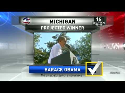 Presidential Election Results 2012: Obama Projected Winner of Michigan