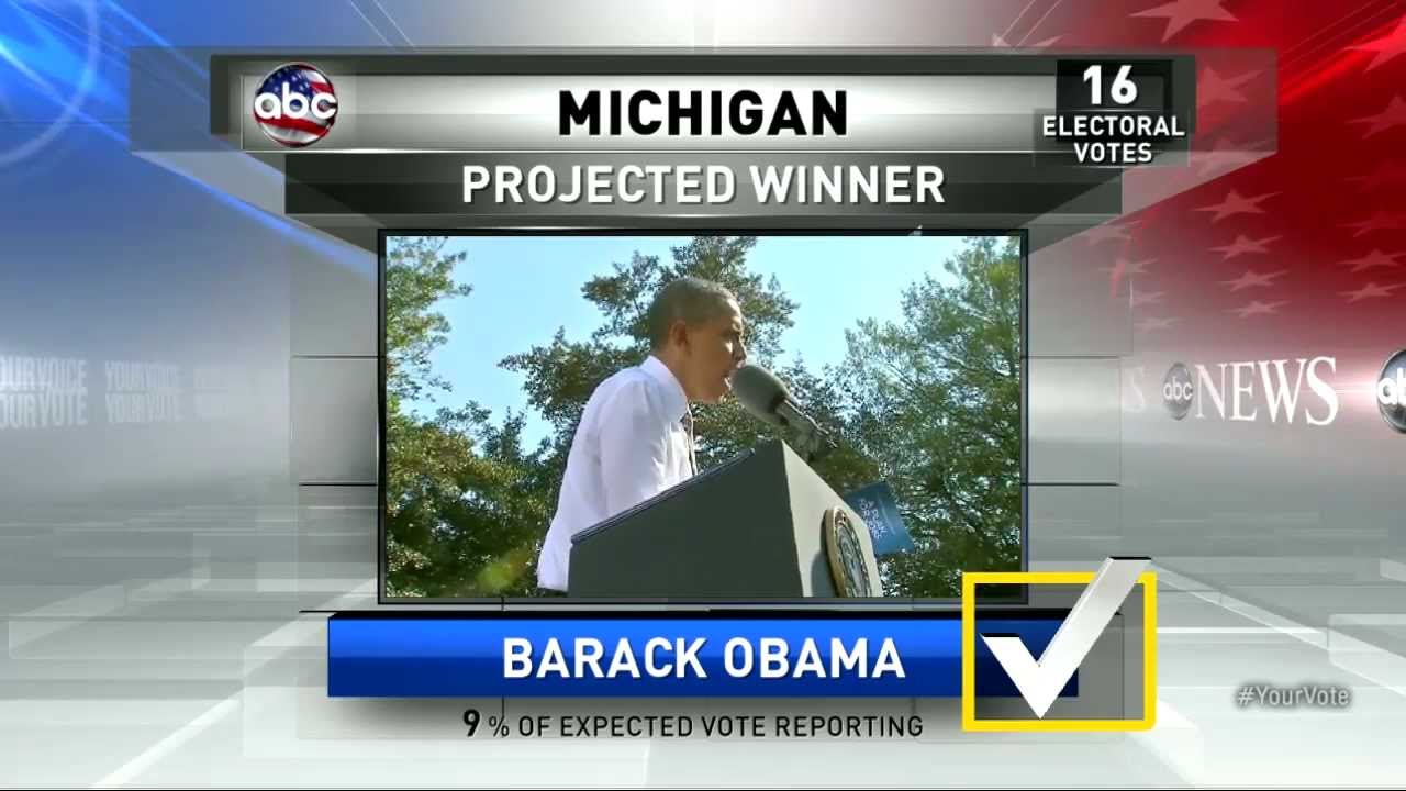 projected winner presidential election