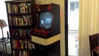 Arcade Cabinet - Hardware changes, Decal Concepts
