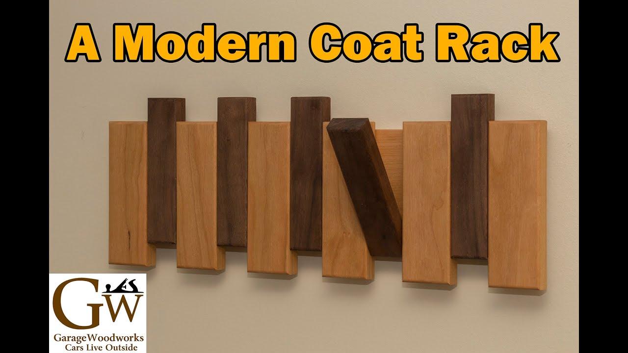 a modern coat rack  youtube -