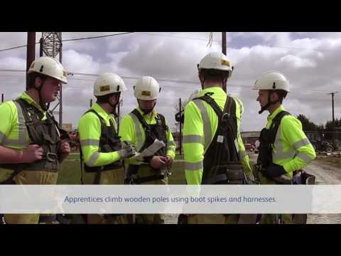 A day in the life of an overhead lines apprentice