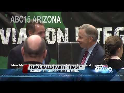 Sen. Jeff Flake says Republicans may be