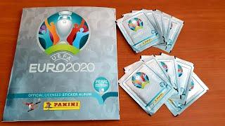 NEW EURO 2020 PANINI STICKERS OUT NOW!!!   Panini Euro 2020 Sticker Album Pearl Edition