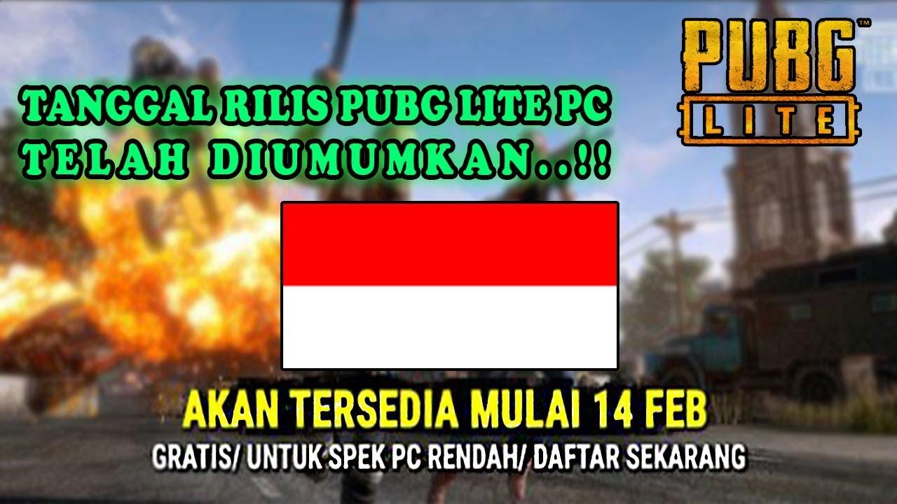 Download Pubg Lite Indonesia Gratis Pubg Untuk Pc Kentang: Tanggal Rilis PUBG Lite PC Di Indonesia..!!