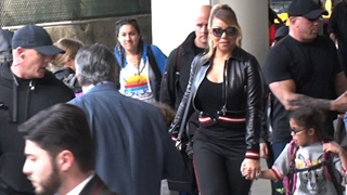 Mariah Carey Takes A Trip With Bryan Tanaka And Kids