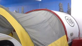 T@B Trailer Awning, Setup. Excellent Shade Awning For Your Tab Trailer