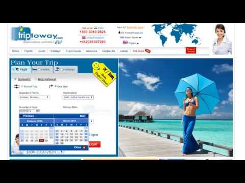 Cheapest Online ticket booking,Hotel and holiday packages at Triptoway