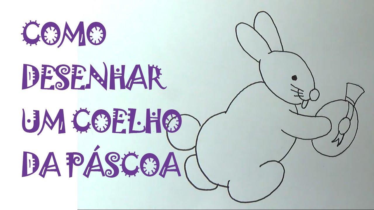 Como Desenhar O Coelho Da Pascoa