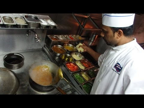 Chilli Mushroom & Paneer Bhurji Restaurant Recipes: Indian Street Food at Mumbai Junction, London.