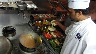 Chilli Mushroom & Paneer Bhurji Restaurant Recipes: Indian Street Food at Mumbai Junction, London.
