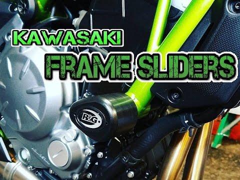 2017 Kawasaki Z650: R&G Aero Style Frame Sliders