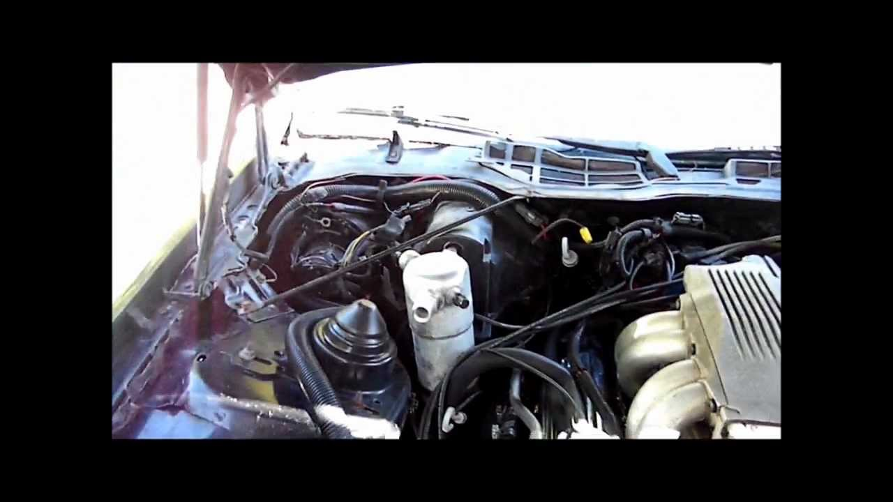 changing the engine harness on iroc 57 tpi  YouTube