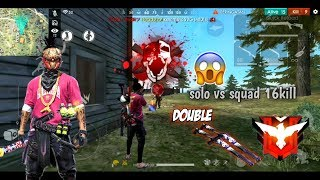 TOP GLOBAL MUKILL DI RANK SOLO VS SQUAD PAKE DOUBLE SHOTGUN LANGSUNG KILL BANYAK!!