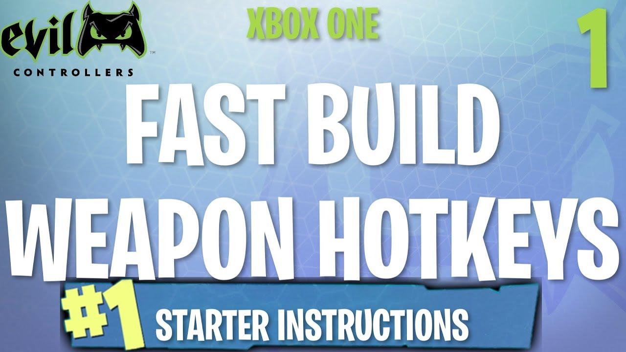 Xbox Starter Instructions FORTNITE MOD GUIDE 1 YouTube