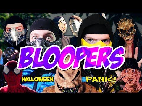 Real Mortal Kombat: Halloween Panic! Bloopers! | MKX PARODY! thumbnail